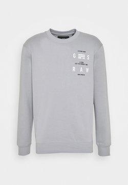 G-Star - BACK PRINT LOGO R SW L\S - Sweatshirt - correct grey