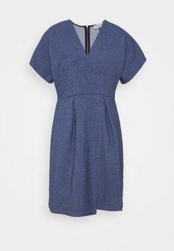 Closet - CLOSET KIMONO MINI DRESS - Hverdagskjoler - denim