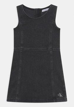 Calvin Klein Jeans - Jeanskleid - grey