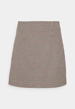 EDITED - EDEN SKIRT - A-Linien-Rock - rot/blau