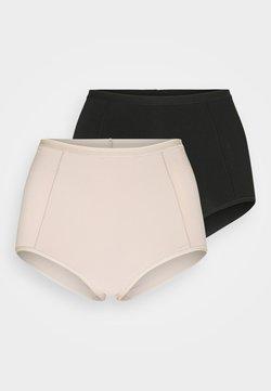 Marks & Spencer London - BRIEF 2 PACK - Shapewear - black/nude