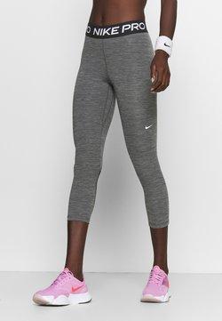 Nike Performance - CROP - Tights - black/white
