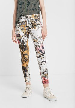 Desigual - PANT_FLORE - Jeans slim fit - multicolor