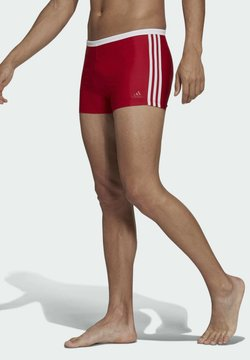 adidas Performance - 3-STREIFEN BOXER - Badehose Pants - red