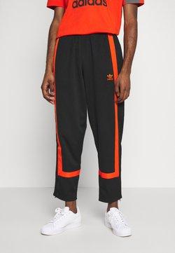 adidas Originals - WARMUP - Jogginghose - black/corang