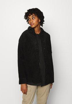 Monki - CONNY LI  - Hemdbluse - black dark svart