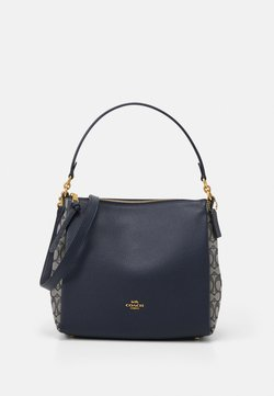 Coach - SIGNATURE SHOULDER BAG - Handbag - midnight navy