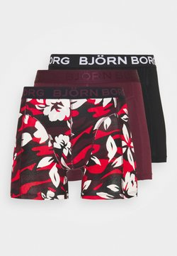 Björn Borg - CAMO FLORAL SAMMY 3 PACK - Shorty - winetasting
