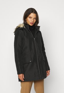 Noisy May Petite - NMOCTAVIA LONG JACKET - Parka - black
