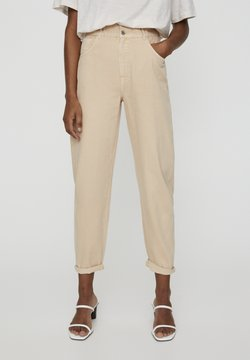 PULL&BEAR - Relaxed fit jeans - camel