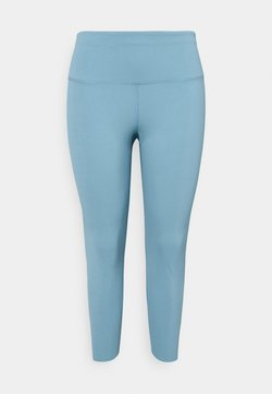 Nike Performance - THE YOGA LUXE 7/8 PLUS - Tights - cerulean/light armory blue