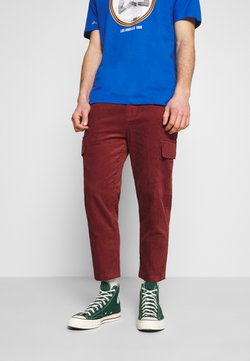 Another Influence - ETHAN TROUSERS - Cargo trousers - rust