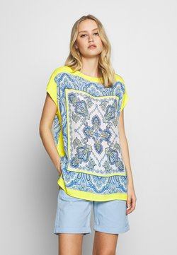 Emily van den Bergh - Bluse - yellow/blue