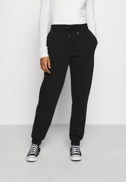 Monki - KARDI PANTS - Jogginghose - black