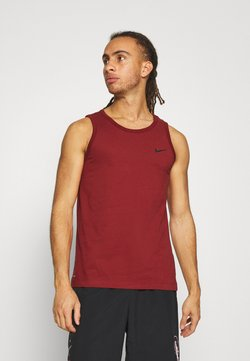 Nike Performance - DRY TANK SOLID - Funktionströja - dark cayenne