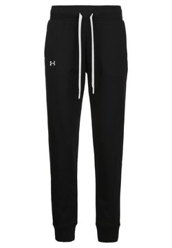 Under Armour - Jogginghose - black / white