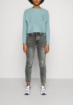 Pieces - PCSCARLETT - Jeans baggy - grey denim
