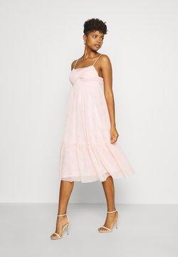 NA-KD - ZALANDO X NA-KD VOLUME DRESS - Cocktail dress / Party dress - dusty pink