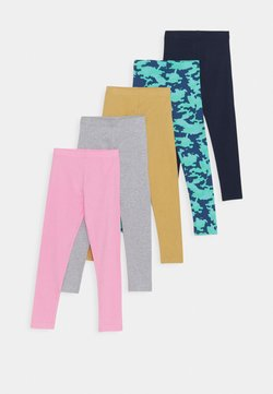 Friboo - 5 PACK - Legging - green/turquoise/light pink/grey/dark blue