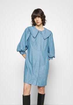 JUST FEMALE - TEXAS DRESS - Sukienka koszulowa - light blue
