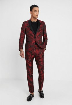 Twisted Tailor - ERSAT SUIT SLIM FIT - Completo - black