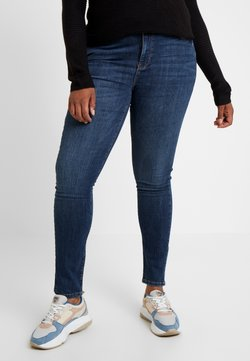 Vero Moda Curve - Jean slim - dark blue denim