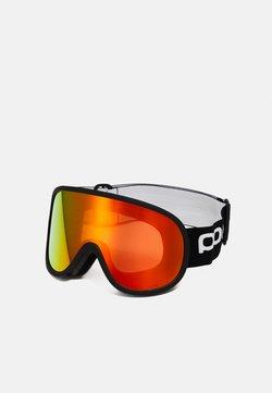 POC - RETINA BIG CLARITY UNISEX - Skidglasögon - uranium black/spektris orange