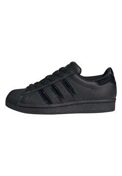adidas Originals - SUPERSTAR SHOES - Sneakers laag - black
