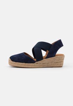Unisa - CELE - Korkeakorkoiset sandaalit - ocean