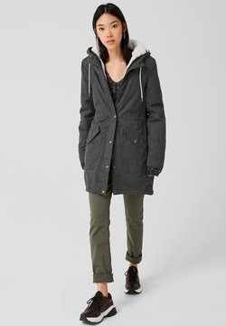 Q/S designed by - LANGARM - Parka - anthracite