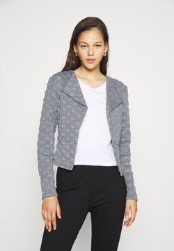 Vila - VISANKA JACKET - Blazer - mottled grey