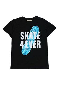 Cigit - T-shirt con stampa - black