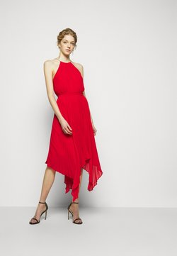 MICHAEL Michael Kors - PLEATED HALTER  - Cocktail dress / Party dress - crimson