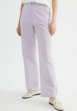 Trendyol - Stoffhose - purple