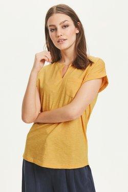 Part Two - KEDITA  - T-Shirt basic -  dark yellow