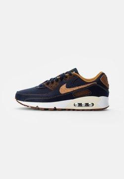 Nike Sportswear - NIKE AIR MAX 90 - Baskets basses - obsidian/wheat-coconut milk-white