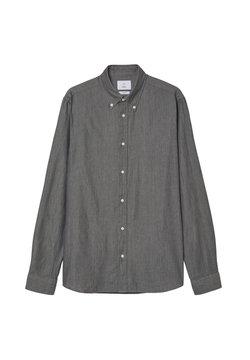 Bläck - MILTON TWILL - Hemd - grey melange