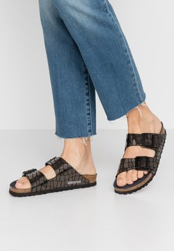 Birkenstock - ARIZONA - Tofflor & inneskor - gator gleam black