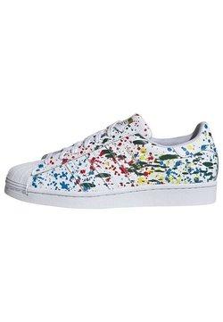 adidas Originals - SUPERSTAR UNISEX - Sneaker low - white