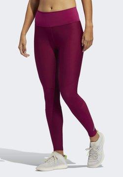 adidas Performance - BELIEVE THIS 2.0 AEROREADY LONG LEGGINGS - Collants - purple