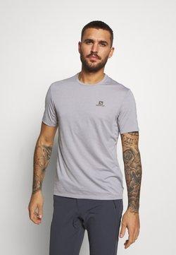 Salomon - TEE - T-Shirt basic - alloy/heather