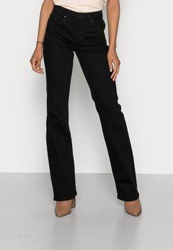 Esprit - BOOTCUT - Bootcut jeans - black rinse