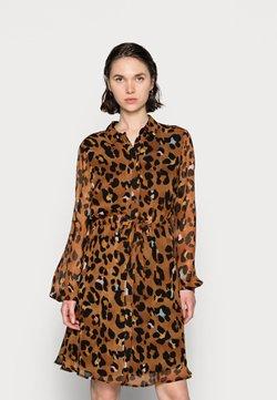 Fabienne Chapot - CATO DRESS - Blusenkleid - cognac/black
