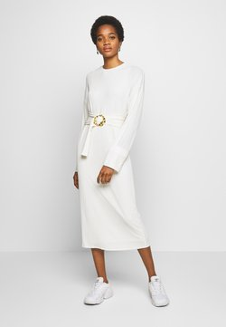 EDITED - SAIGE DRESS - Gebreide jurk - creme