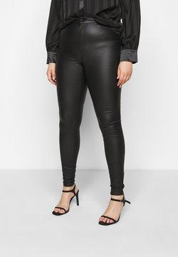 Vero Moda Curve - VMLORA COAT PANTS - Jeans Skinny Fit - black