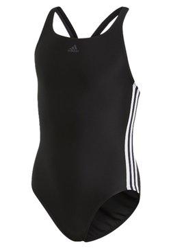 adidas Performance - ATHLY V 3-STRIPES SWIMSUIT - Swimsuit - black/white