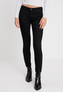Lee - SCARLETT CROPPED - Jeans Skinny Fit - black rinse