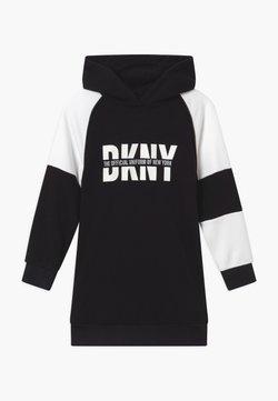 DKNY - HOODED - Day dress - black