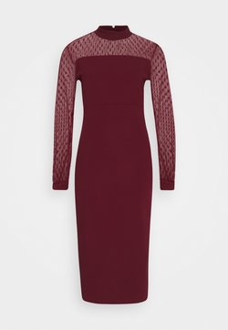 WAL G. - MIDI DRESS - Cocktail dress / Party dress - wine