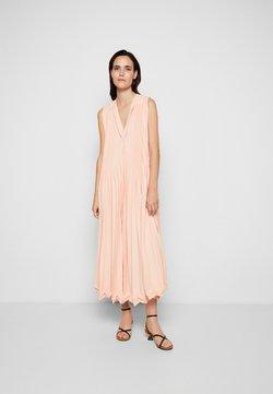 3.1 Phillip Lim - 3-TIER PLEATED V NECK DRESS - Cocktailkleid/festliches Kleid - peach